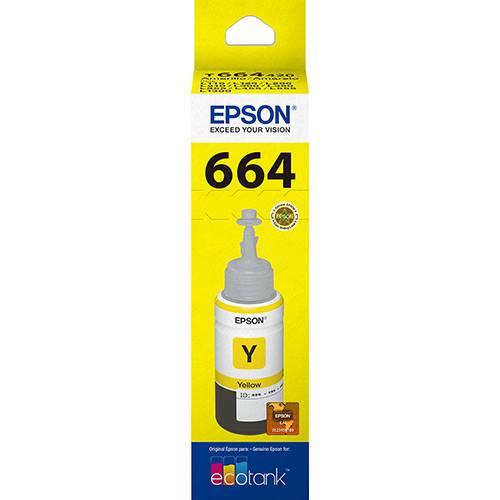 Refil de Tinta Epson T664420 Amarelo