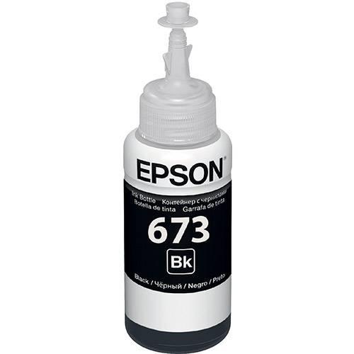 Refil de Tinta Epson T673120 Preto