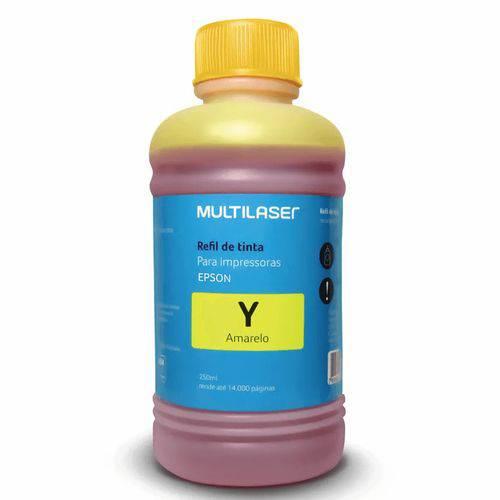 Refil de Tinta para Impressoras Epson 250ml Amarelo