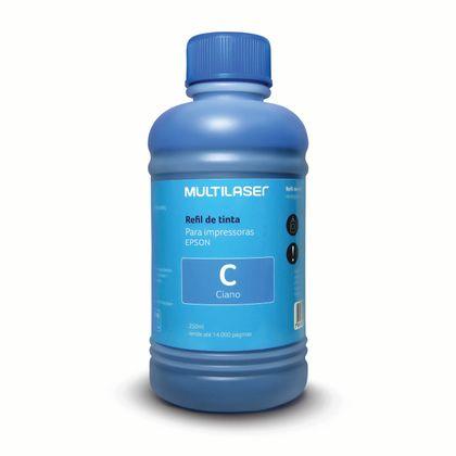 Refil de Tinta para Impressoras EPSON 250ml Ciano - RF014 RF014