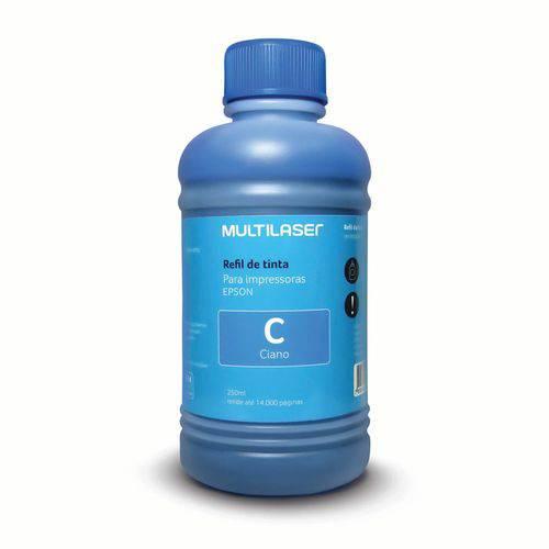 Refil de Tinta para Impressoras Epson 250ml Ciano - Rf014