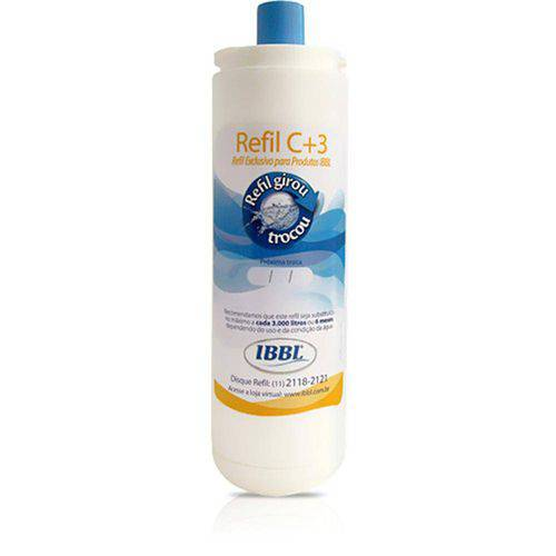 Refil Ibbl C+3 (Fr/Pfn/Atlantis/Bdf) - Industria Brasileira de Bebedouros Ltda