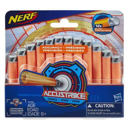 Refil Nerf Accustrike 12 Dardos Hasbro - C0162