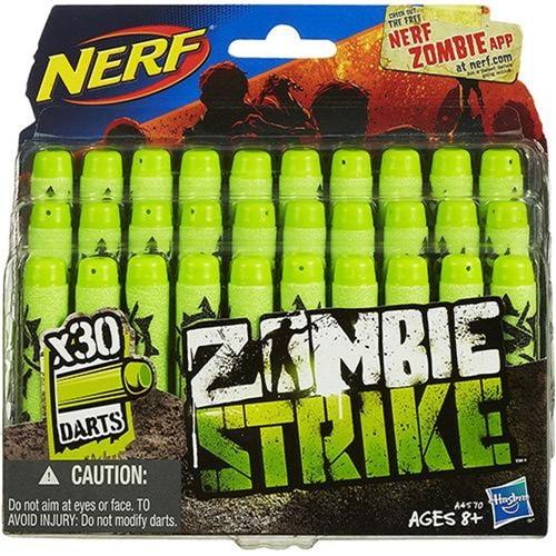 Refil Nerf Zombie 30 Dardos HASBRO