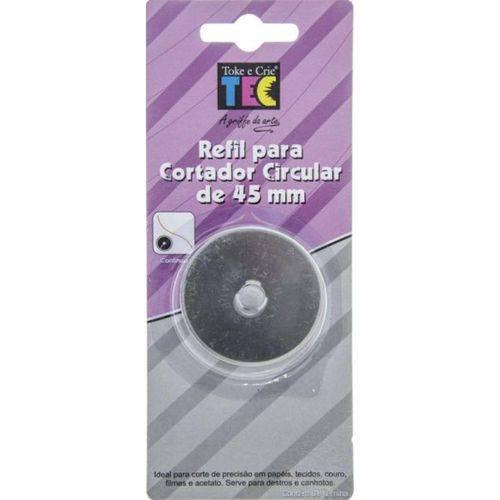 Refil para Cortador Circular 45mm Toke e Crie