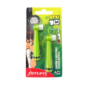 Refil para Escova Dental Elétrica Bitufo Ben10