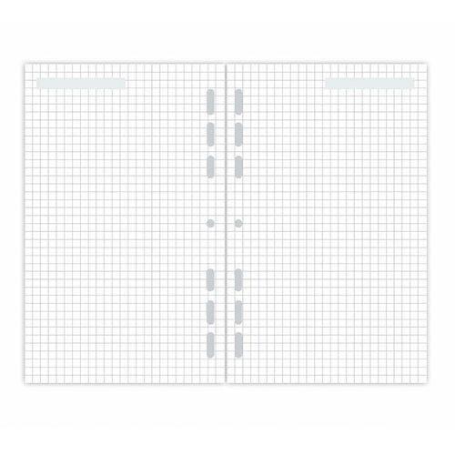 Refil Planner 30 Folhas Quadriculadas Maxi 4873-0