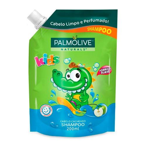 Refil Shampoo Palmolive Cabelos Cacheados 200ml
