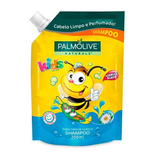 Refil Shampoo Palmolive Naturals Kids 200ml