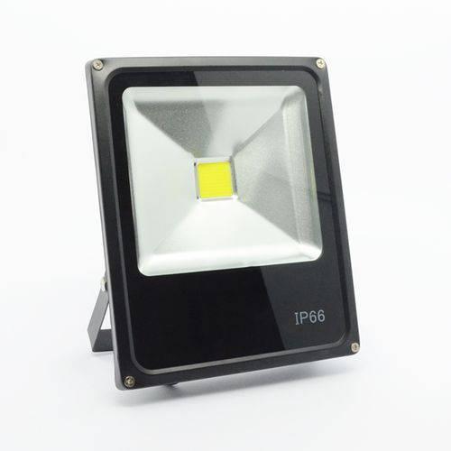 Refletor de Led 10w Luz Amarela