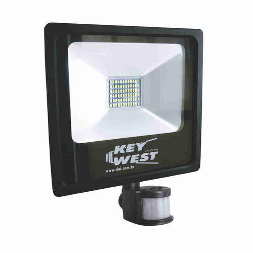 Refletor de Led Smd com Sensor de Presença 30W - Dni 6035