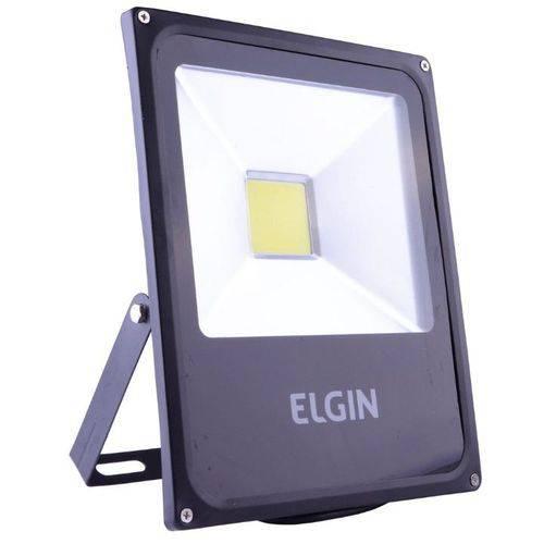 Refletor Elgin Power Led 30w Preta Sem Sensor Bivolt