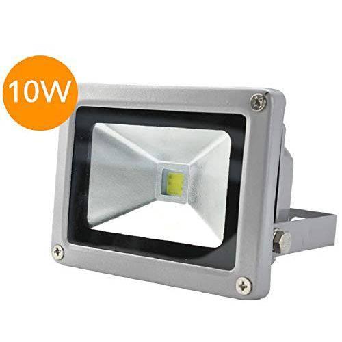 Refletor Holofote Led Bivolt Branco Frio Ip66 10w