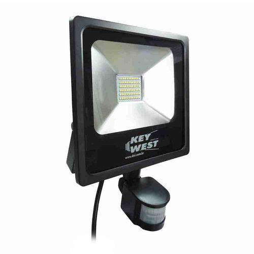 Refletor Led 30w Bivolt com Sensor de Presença 6035 Dni