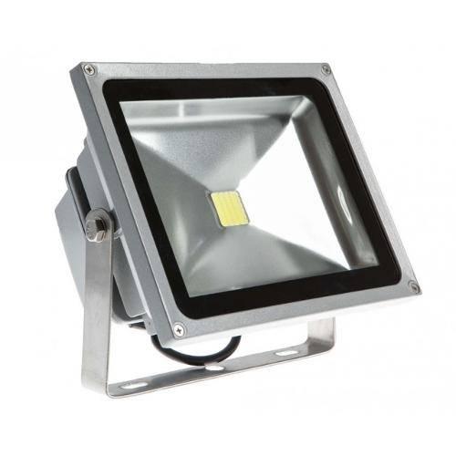Refletor Led 30w Holofote Prova Dágua Verde
