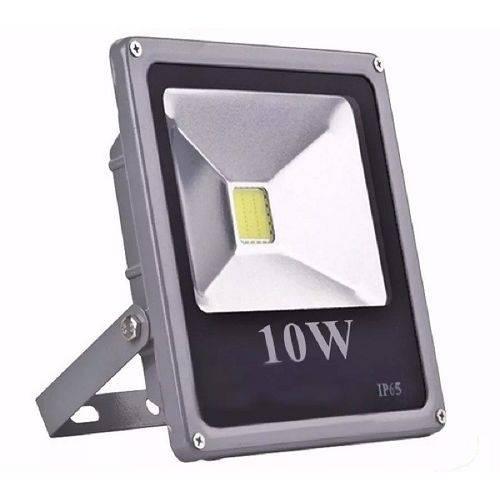 Refletor Led 10w Luz Verde
