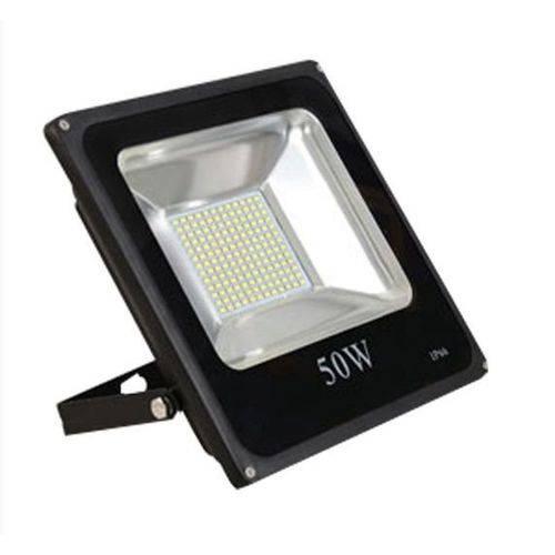 Refletor Led 50w Holofote Prova D'água Branco Frio - Refletor 50w Bf