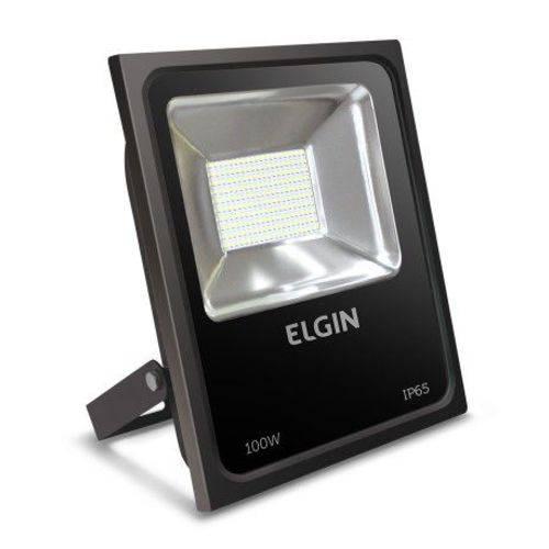 Refletor Led Elgin 100w 6500k Ip65 Biv