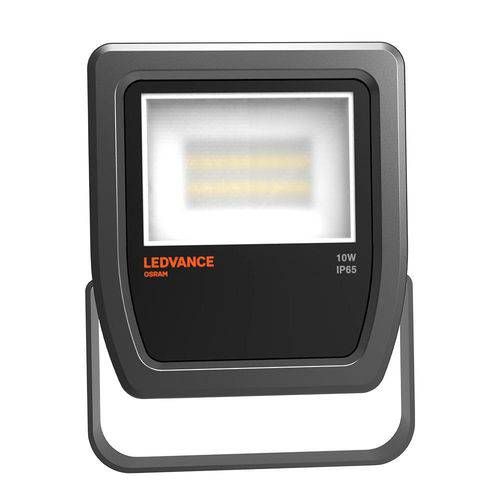 Refletor Ledvance Floodlight 10w Luz Branca, Preto, Bivolt - Osram