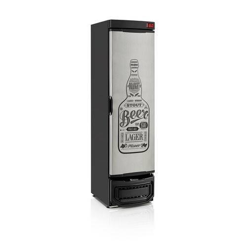 Refrigerador de Bebidas Cervejeira 290l Gelopar Grba-290e Gw Porta Cega Adesivado