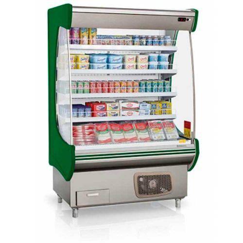 "Refrigerador/expositor Vertical Aberto ""topázio"" Gsto-130 Gelopar"
