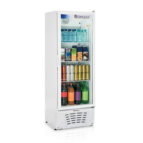 Refrigerador Expositor Vertical Frost Free 414L Profissional Gelopar 220V 295W Branco