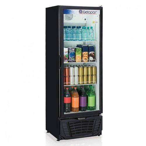 Refrigerador Expositor Vertical Frost Free 414L Profissional Gelopar 220V 295W Preto