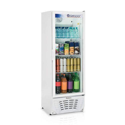 Refrigerador Expositor Vertical Frost Free 414L Profissional Gelopar 127V 306W Branco