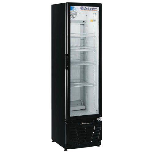 Refrigerador/Expositor Vertical Gelopar Gptu-230PR Frost Free 230 L Preto
