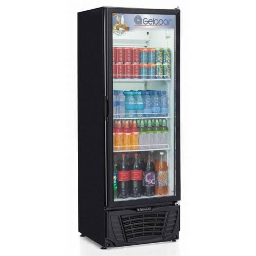 Refrigerador/expositor Vertical Gelopar Gptu-570pr Frost Free 570 L Preto