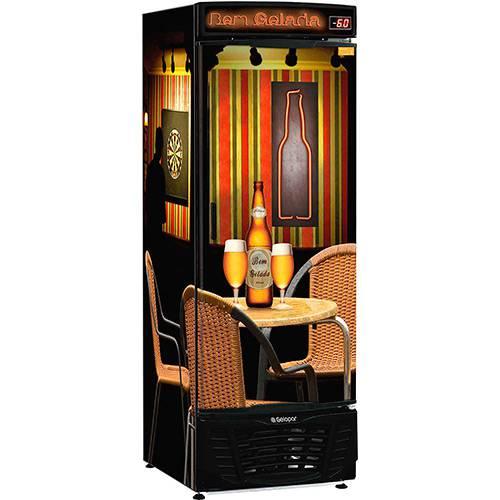 Refrigerador para Bebidas Cervejeira Gelopar GRBA-570R - Porta Cega e Laterais com Adesivo Retrô - 567 L - 220V