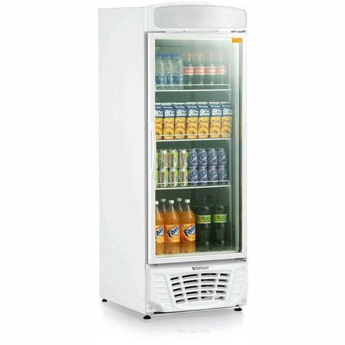 Refrigerador Vertical Conveniência Esmeralda Gldr570 Gelopar