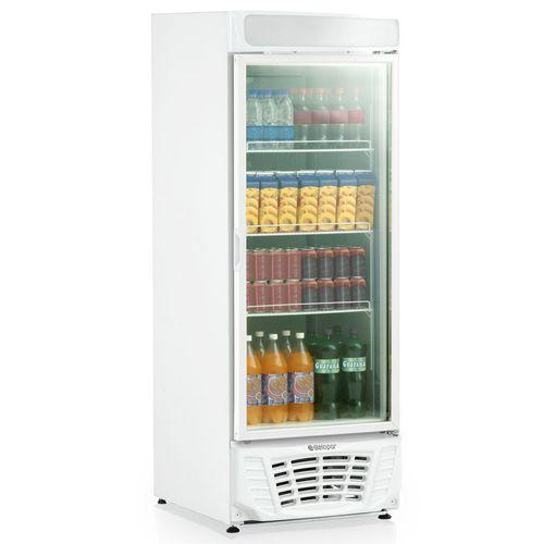 Refrigerador Vertical Conveniência Esmeralda GLDR570AF Gelopar Refrigerador Esmeralda GLDR570AF 110v