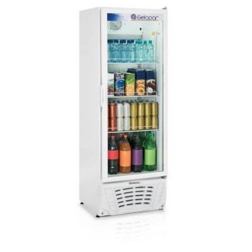 Refrigerador Vertical Gelopar Gptu-40br 414l Turm. Branco