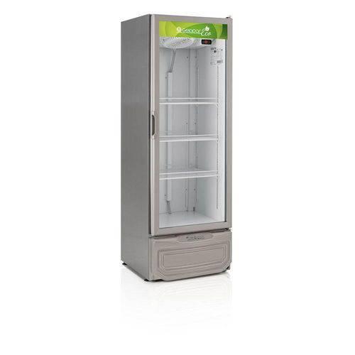 Refrigerador Vertical L.eco 414l Gelopar Grv-40eco Tipo Inox