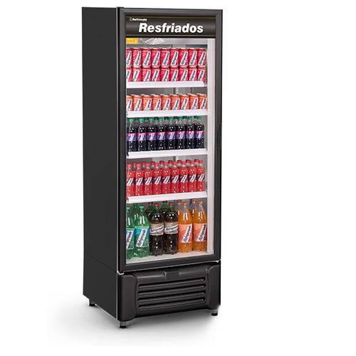 Refrigerador Vertical Visa Cooler 505 Litros Porta de Vidro Refrimate VCM505V