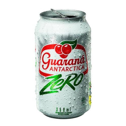 Refrigerante Antarctica 350ml Lata Guarana Zero