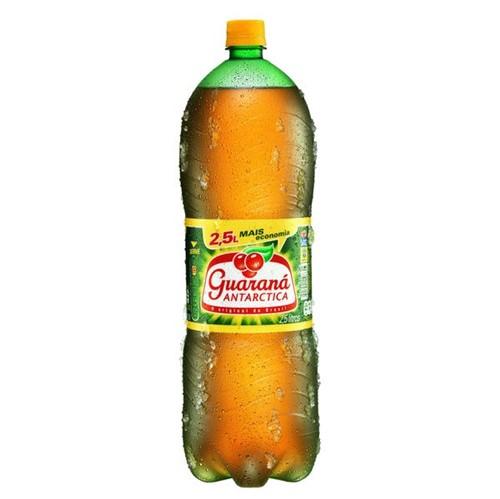Refrigerante Antarctica 2,5l Pet Guarana