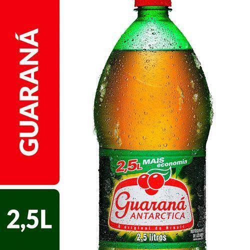 Refrigerante Antarctica Guaraná Garrafa 2,5 L
