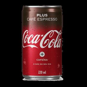 Refrigerante Coca-Cola Café Plus Espresso 220ml (Lata)