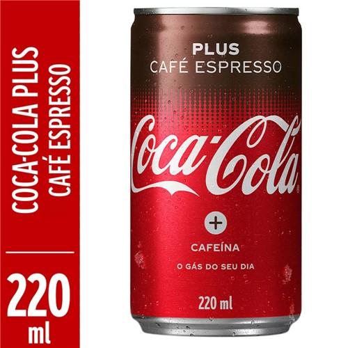 Refrigerante Coca Cola Pus Café Espresso 220ml