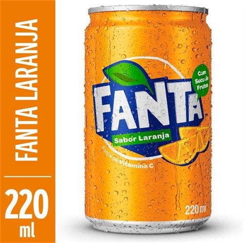 Refrigerante Fanta 220ml Lt Laranja