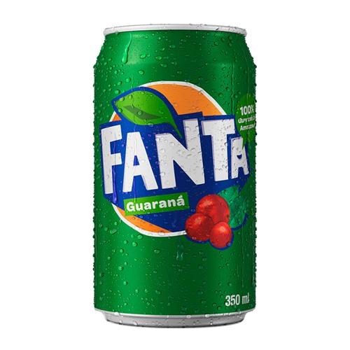 Refrigerante Fanta Guaraná Lata 350ml