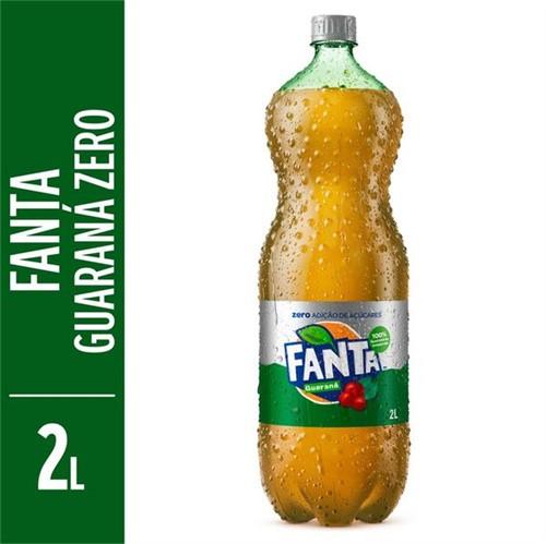 Refrigerante Fanta 2l Pet Guarana Zero
