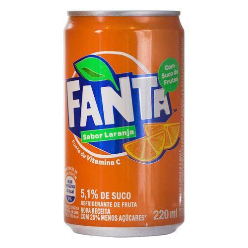 Refrigerante Fanta Laranja 220ml