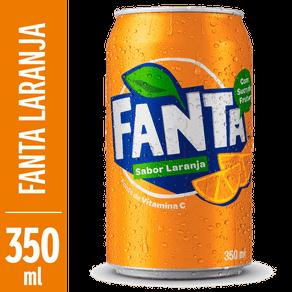 Refrigerante Fanta Laranja 350ml (Lata)