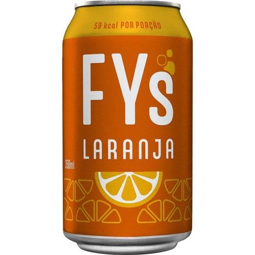Refrigerante Fys 350ml Lt Laranja