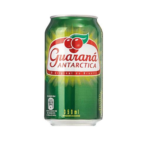 Refrigerante Guaraná Antarctica Lata com 350ml