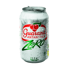 Refrigerante Guaraná Antarctica Zero 350ml (Lata)