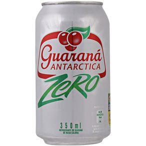 Refrigerante Guaraná Zero Antarctica 350mL